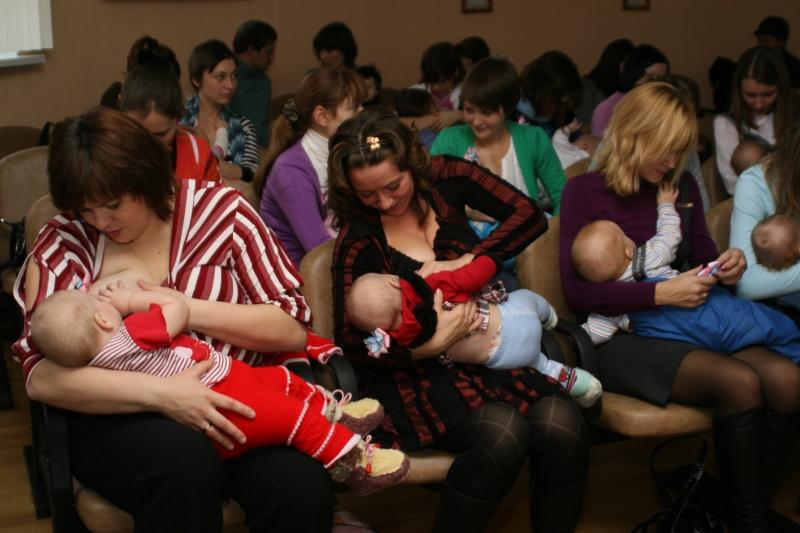 Акция поддержки грудного вскармливания 26.11.2010 14-40-57