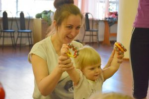 Гимнастика с мамой (1+) @ Лига молодых матерей | Ступино | Московская область | Россия