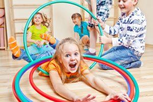 Игровая гимнастика (3+) @ Лига молодых матерей | Ступино | Московская область | Россия