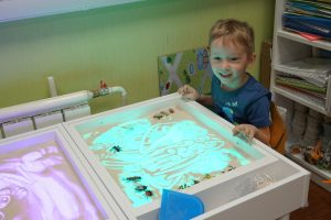 Песочная арт-терапия (5-10 лет) @ Лига молодых матерей